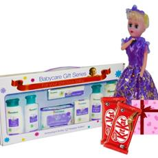 Himalaya Baby Gift Pack and Singing Barbie Music combo