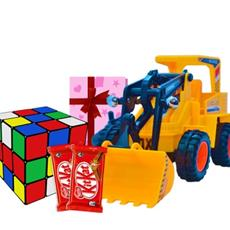 Rubik's cube and  Toy JCB Latest kids combo