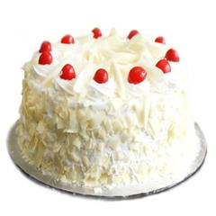 Yummy White Forest Cake Half Kg