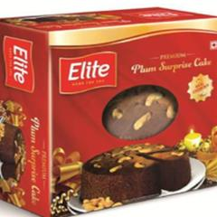 Premium Elite Rich Plum Surprise Cake