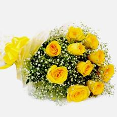 Fresh Flower Bouquet Yellow