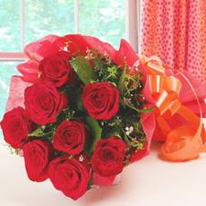 Premium Red Rose Bouquet (8Nos.)