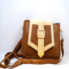 Ladies Leather Wallet Brown