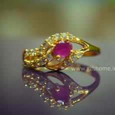 SG Gold Plated Ring For Women