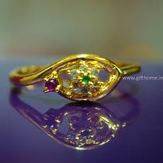 SG Gold Plated Star Ring For Her