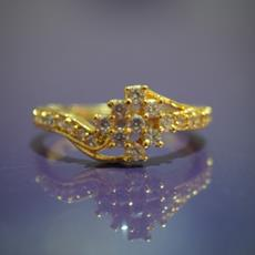 SG Gold Plated Ring For Her