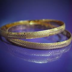 SG Gold Plated Bangle  For Ladies
