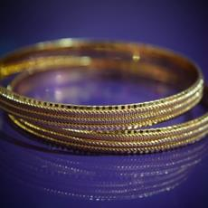 SG Gold Plated Bangle For Women