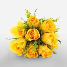 Enchanting Yellow mist bouquet