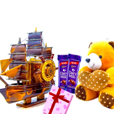 Vintage Ship Teddy combo for your special one's