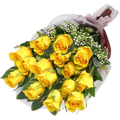 Special Yellow Rose Bouquet
